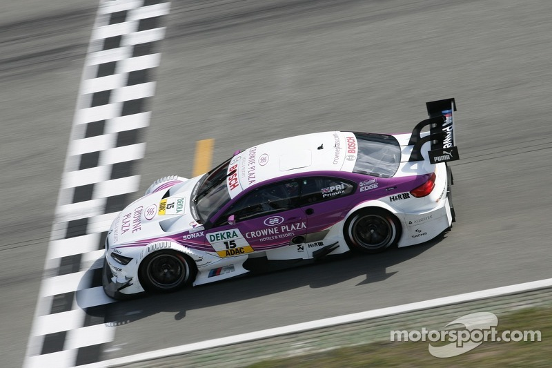 Successful comeback - Priaulx in the points for BMW