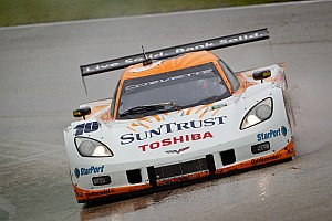 Grand-Am Angelelli, Taylor and Corvette win rain soaked Homestead race