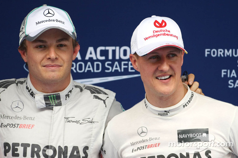 China victory was 'difficult day' for Schumacher