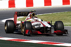 Formula 1 HRT Spanish GP Friday report