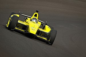 IndyCar Sarah Fisher Hartman Racing Indy 500 practice day 1 report