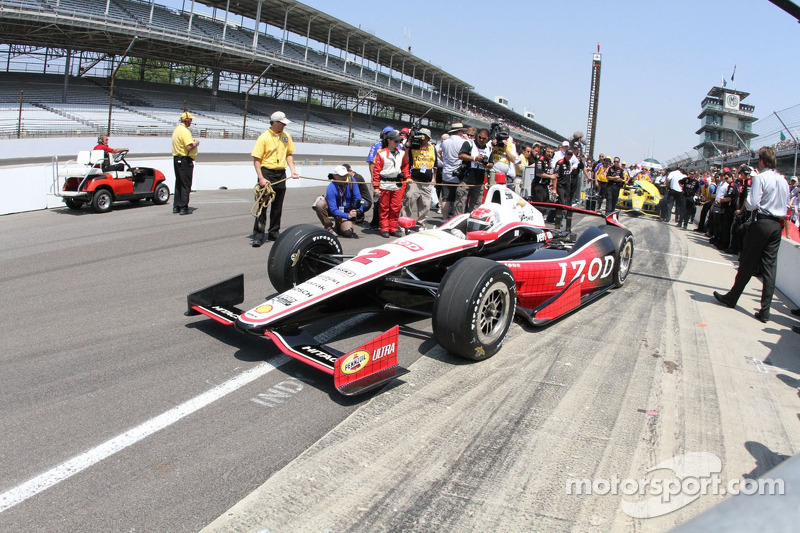 Briscoe adds to Team Penske's legacy with his first Indianapolis 500 pole position
