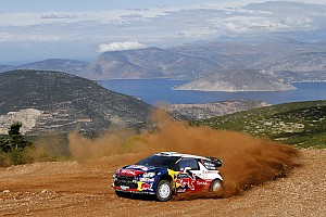 WRC Citroen celebrates their 3rd 1-2 finish of the season in Greece