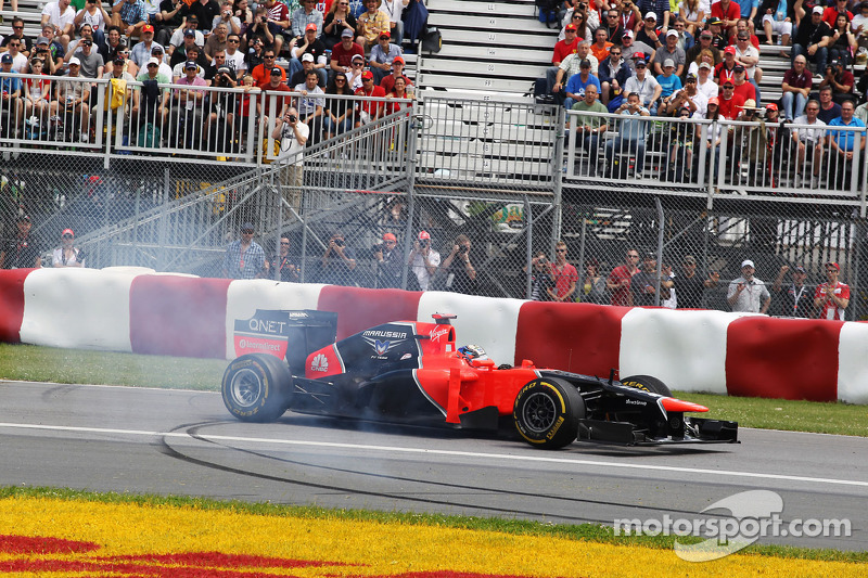 Marussia drivers both have difficult start in Montreal