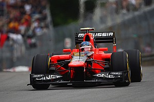 Formula 1 Marussia had tough luck in Montreal