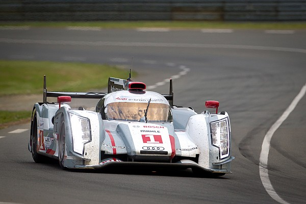 Audi #1 sets the pace in Wednesday night qualifying