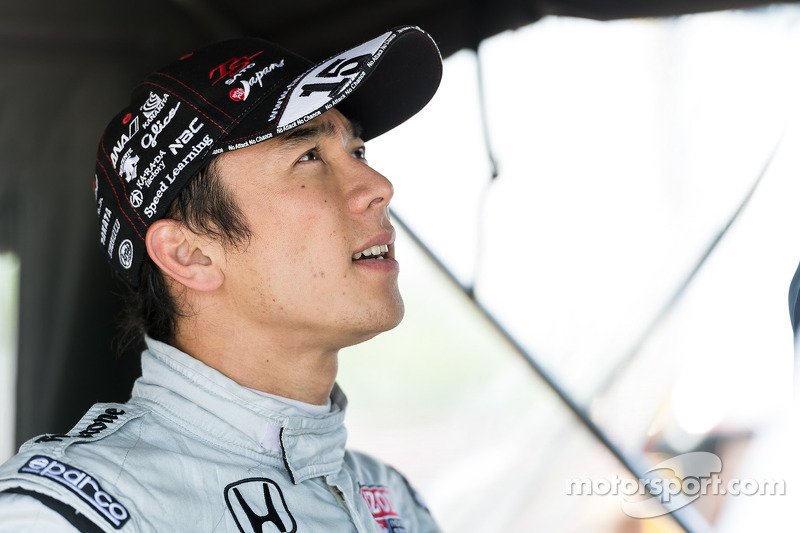 Sato returns to Iowa, the site of his first pole