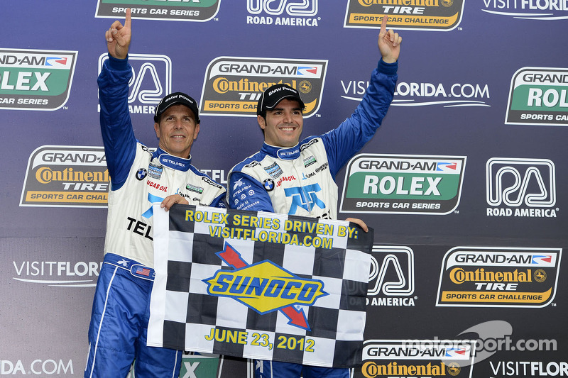 Pruett and Rojas take first win in 2012 at Road America