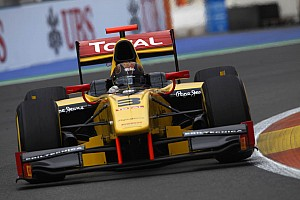 GP2 Race report Davide Valsecchi and DAMS still in the frame after Valencia