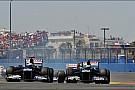 Williams team survived the European GP battle field