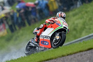 MotoGP Qualifying report Third row for Ducati Team in German GP qualifying