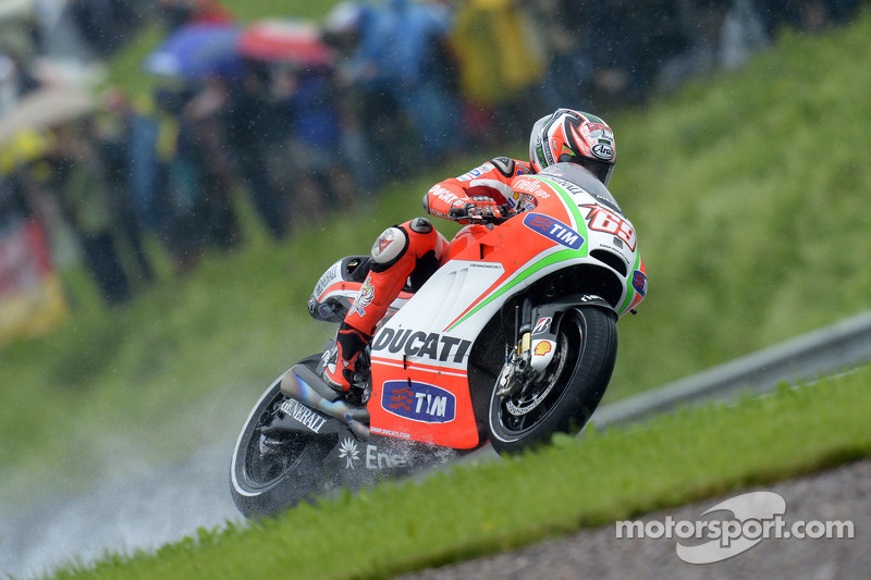 Third row for Ducati Team in German GP qualifying
