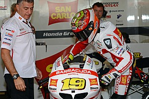 MotoGP Race report A weekend to forget for San Carlo Honda Gresini