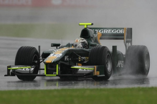 Giedo van der Garde claims Hockenheim pole