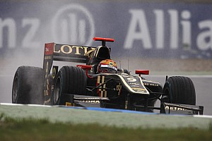 GP2 Breaking news Esteban Gutierrez leads Lotus charge at Silverstone