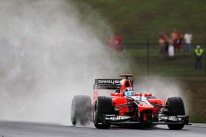 Opening day of Hungarian GP proved to be a tricky business for Marussia