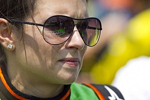 NASCAR XFINITY Special feature Danica Patrick's Indianapolis return ends early after hitting the wall
