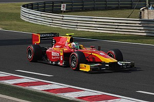 GP2 Race report Berthon will start on the front row for the Sprint Race in Budapest