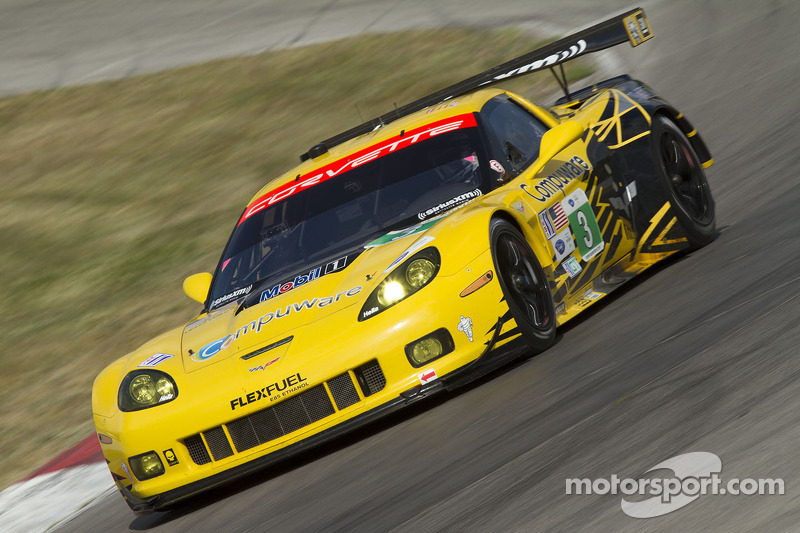 Corvettes qualify fifth and sixth for ALMS Mid-Ohio Sports Car Challenge