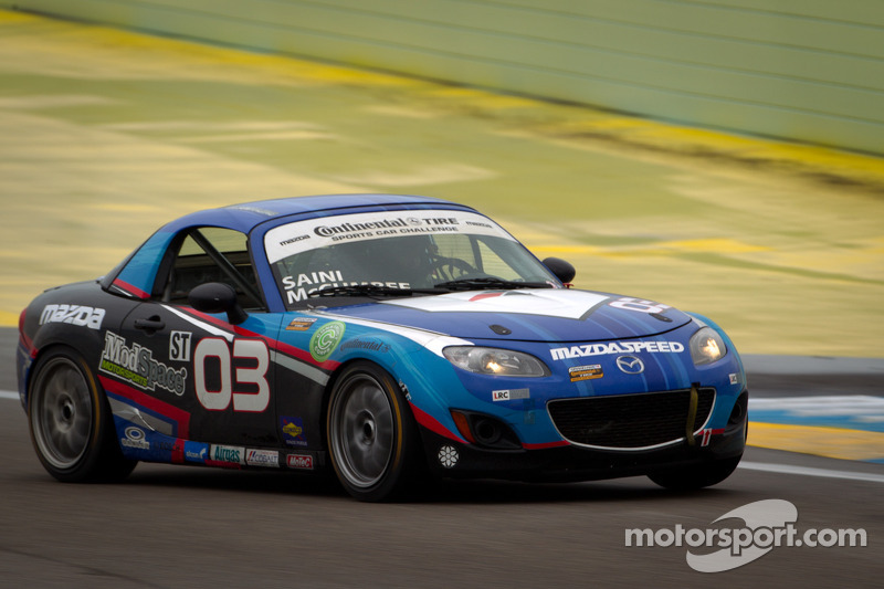 Dean sweeps Playboy MX-5 Cup weekend at CTMP