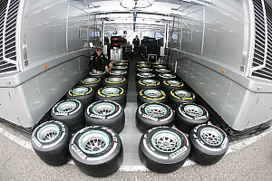 Formula 1 Commentary Pirelli says tire war not good for F1