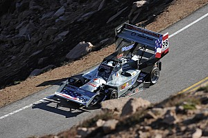 Hillclimb Breaking news Paul Dallenbach okay following crash at Pikes Peak Hillclimb