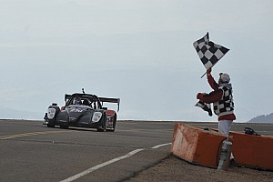 Hillclimb Race report Yokohama's Nutahara wins Pikes Peak EV class with new record