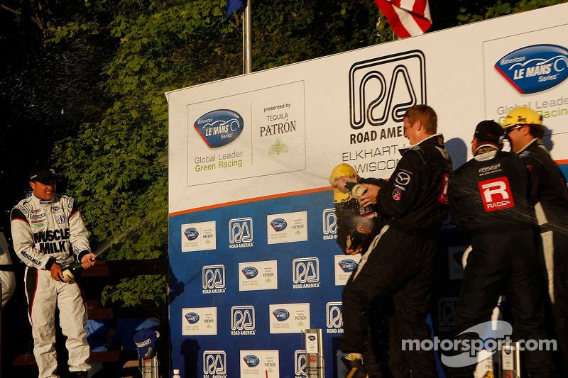 Michelin P1 win streak ends at five at Road America