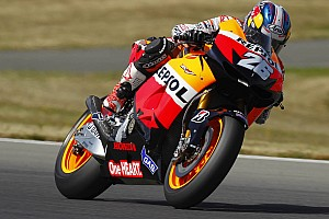 Pedrosa leads Friday practice in Czech Republic