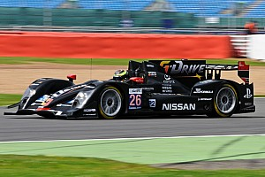 Signatech-Nissan on the podium at Silverstone