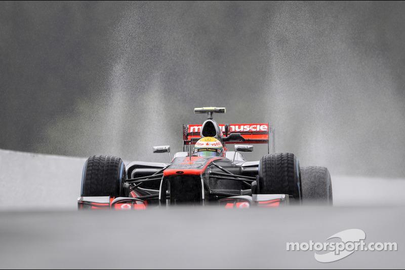 No representative times for McLaren on Friday in Belgian GP practice