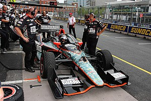 IndyCar Race report Wild Baltimore GP leaves Panther's JR Hildebrand in 12th