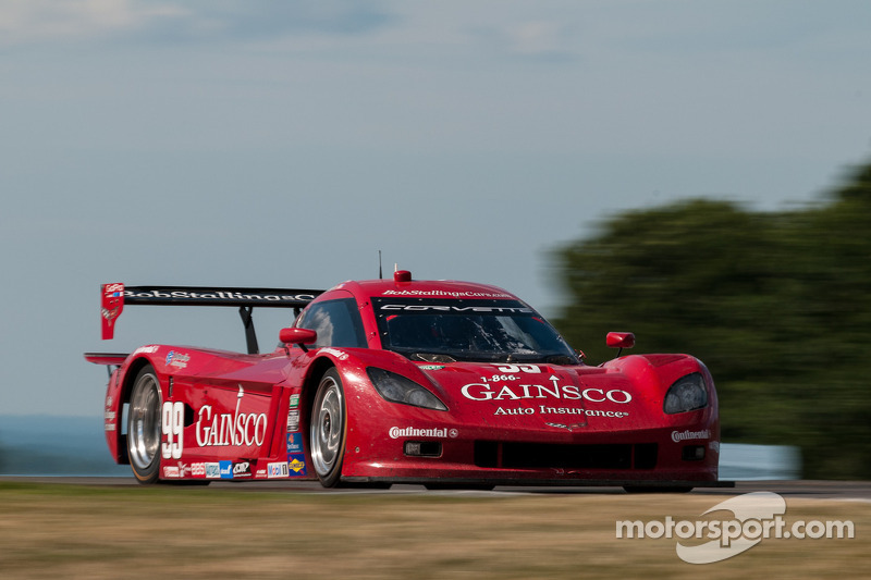 BSR's Gurney edges CGR's Pruett in Friday practice at Laguna Seca