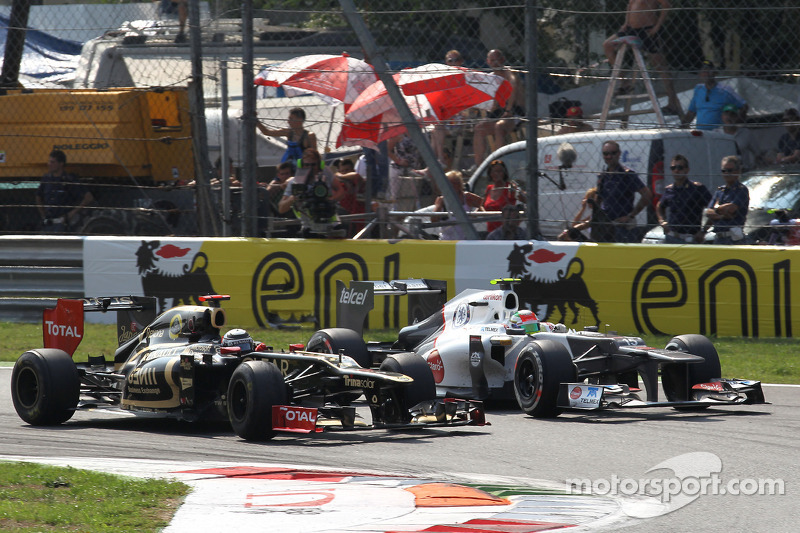 Precious points for Lotus after difficult race at Monza