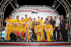 IndyCar Breaking news Hunter-Reay and Andretti Autosport celebrates 2012 championship
