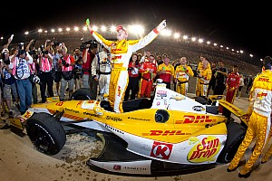 Andretti's Hunter-Reay wins the 2012 IndyCar Championship in Fontana