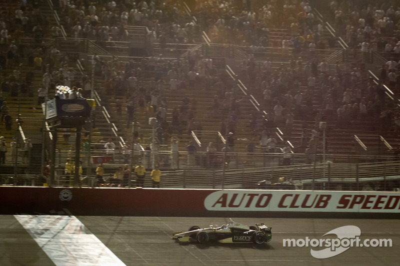 Chevrolet's Carpenter, Hunter-Reay, Power and Andretti Fontana post-race interviews