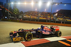 Toro Rosso qualified 15th and 16th for Singapore GP