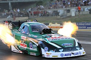 NHRA Qualifying report John Force earns Funny Car Nitro Shootout victory in Dallas