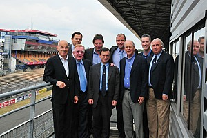 Grand-Am Breaking news Unified Grand-Am and ALMS leadership team meets with ACO and WEC at Le Mans