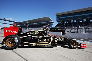 Still no race debut for Lotus 'device'