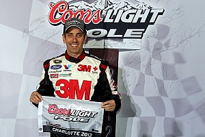 NASCAR Sprint Cup Qualifying report Ford driver Biffle fastest qualifier for Charlotte 500