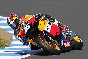 MotoGP Qualifying report Front row start for Pedrosa in Japan, Stoner in 7th