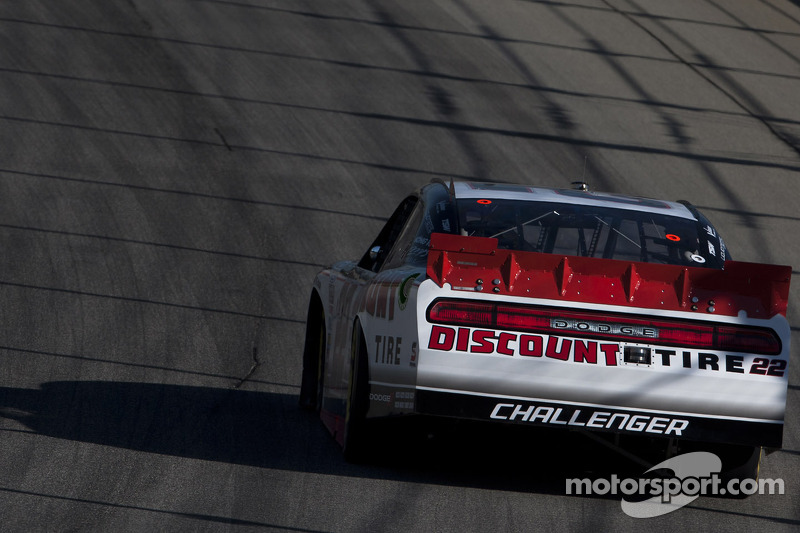 Keselowski and Hornish have hard time at Charlotte 300
