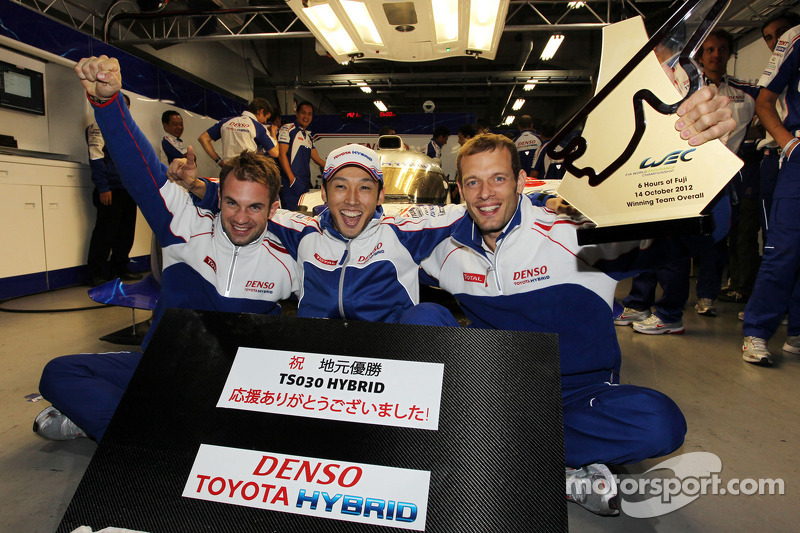Thrilling home win for Toyota Racing at Fuji