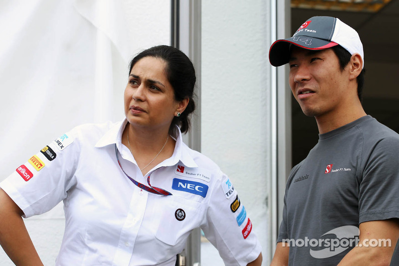 Interview with Sauber's team principal Monisha Kaltenborn