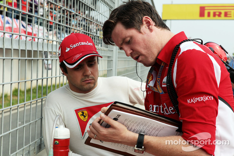 Massa admits to Ferrari's car development problems