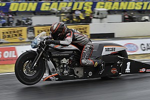 Pro Stock and Pro Stock Motorcycle championship battles heat up in Las Vegas