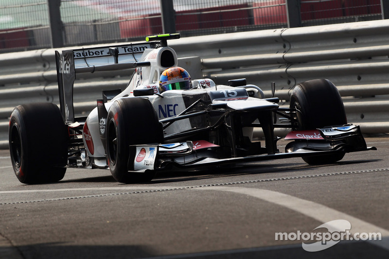 Unwell Perez back on track in India