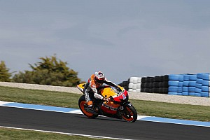 MotoGP Practice report Bridgestone: Stoner on record pace on first day at Phillip Island